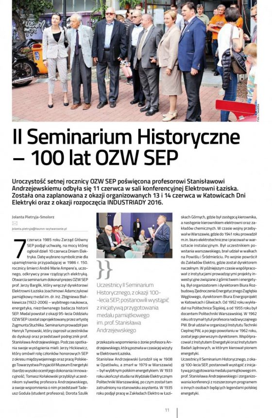 II Seminarium Historyczne