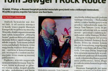 Tom Sawer i Rock Route