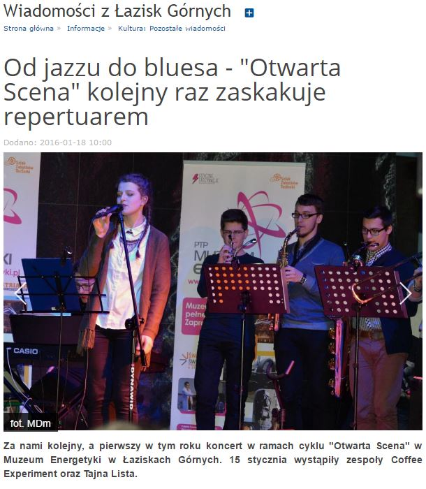 Od jazzu do bluesa