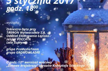 Koncert kolęd i pastorałek – 5 stycznia 2017
