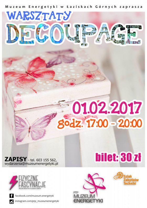 Warsztaty decoupage – ZAPISY