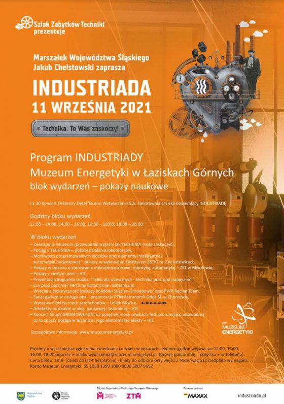 INDUSTRIADA 2021 – program